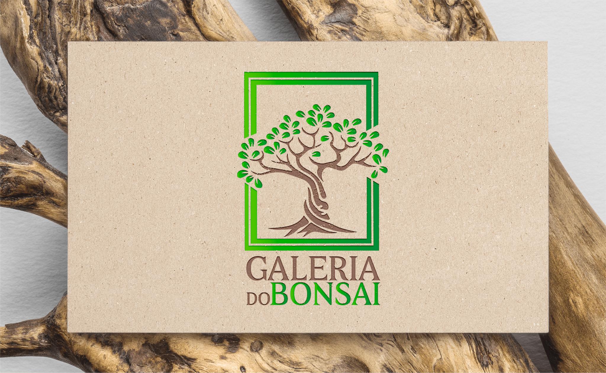 Criação de logótipo Galeria do Bonsai - Logótipo