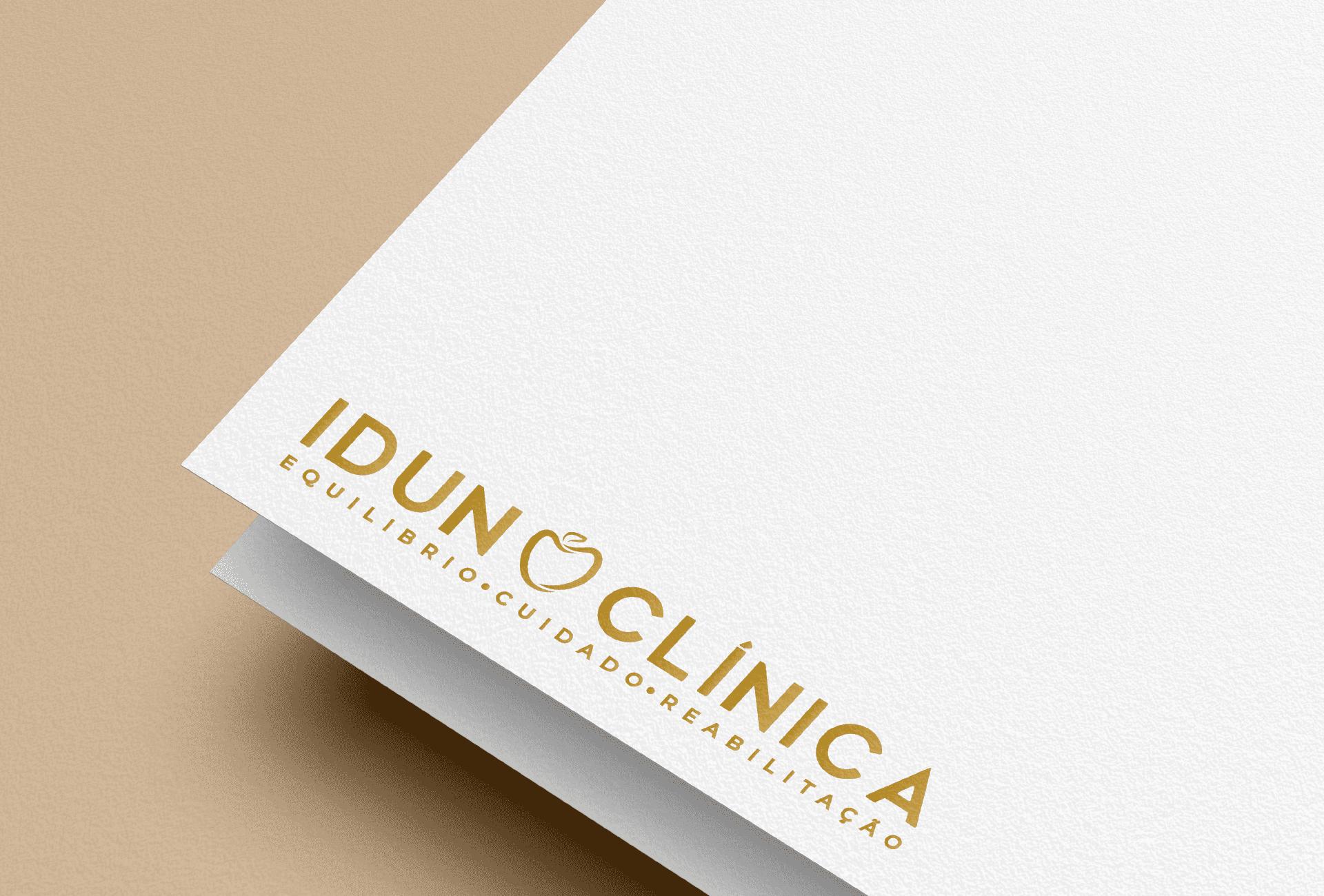 Branding Idun Clínica - logótipo