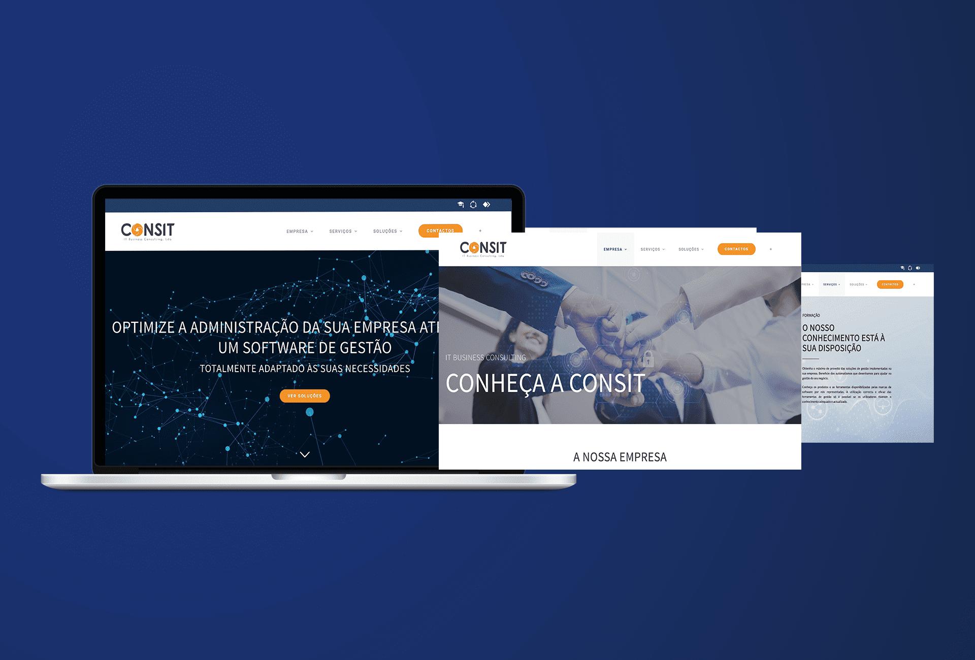 website consit - desktop