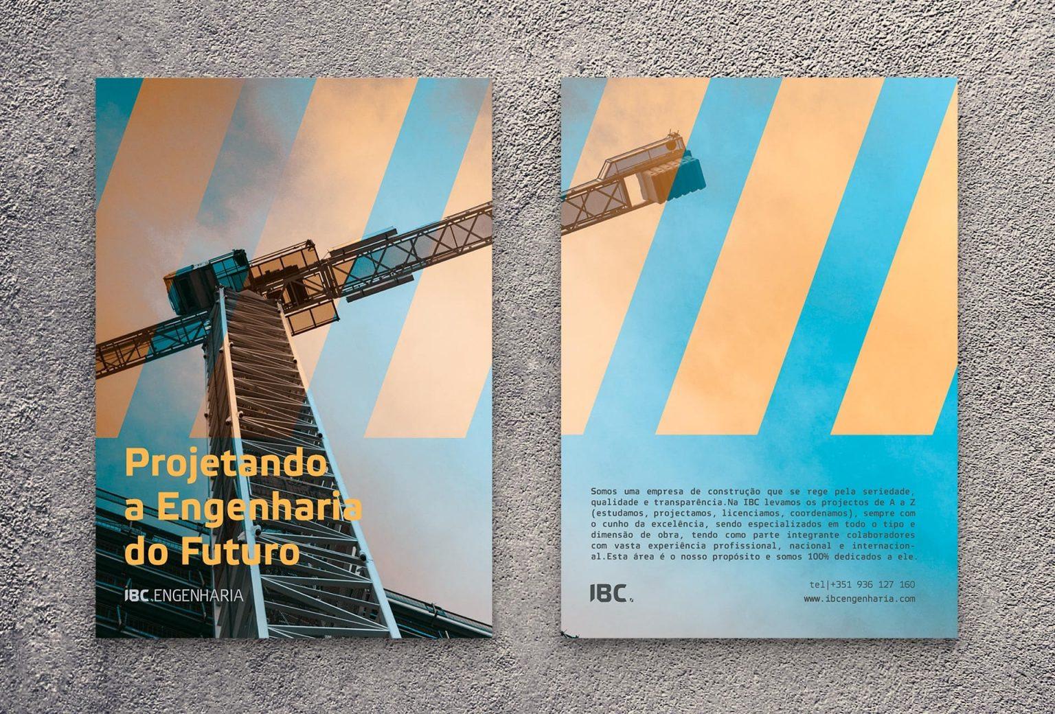 IBC construtora - serviços design - flyer