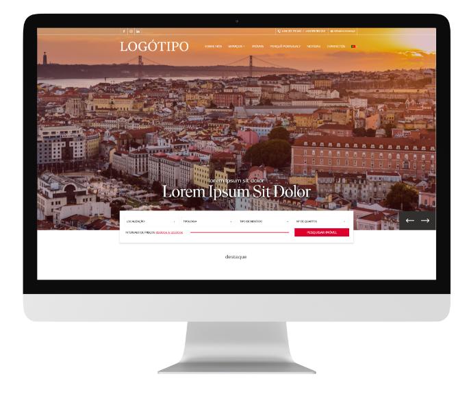 Soluções de marketing digital imobiliário