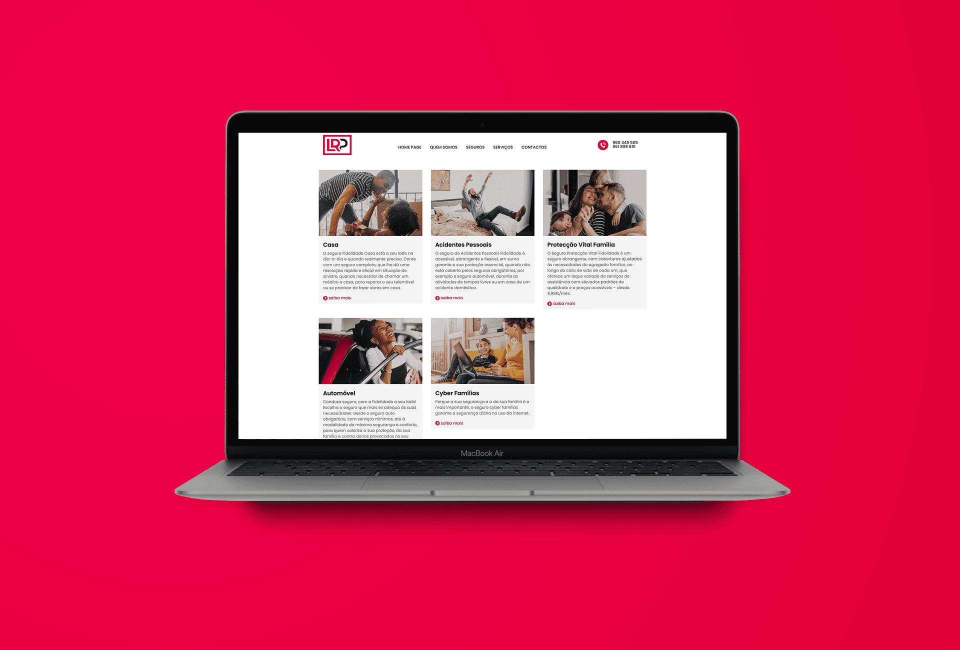 Website Serviços - LRP Empresas