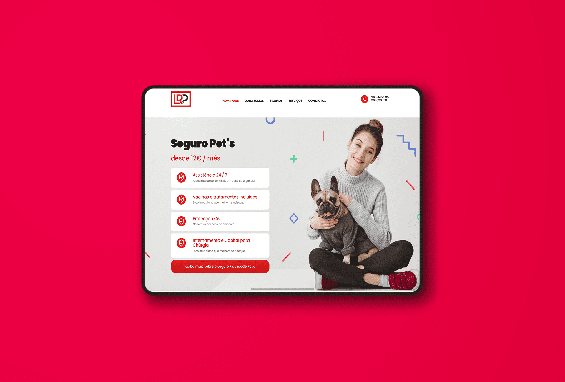 Website Menu - LRP Empresas