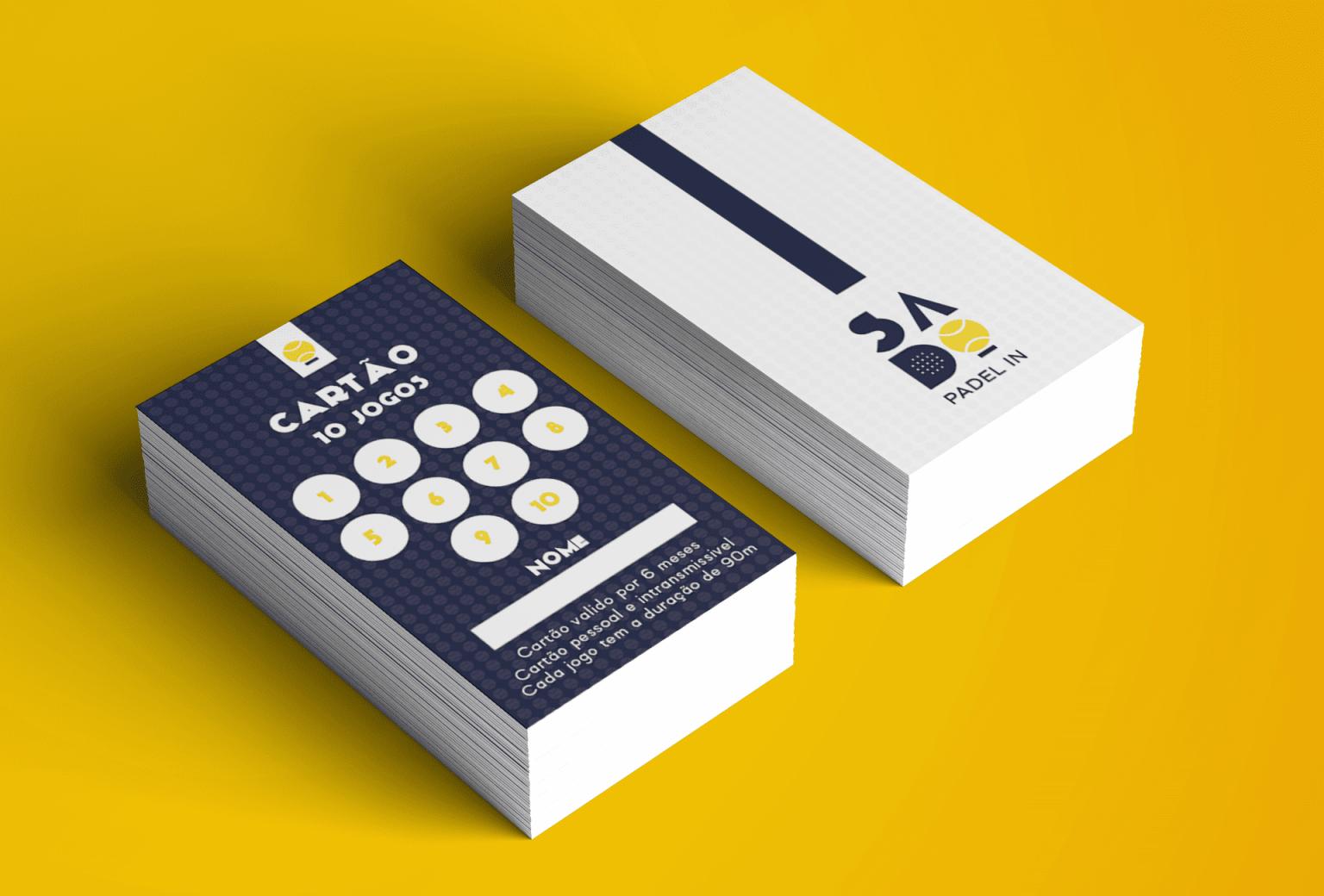 Cartões -Padel In Sado