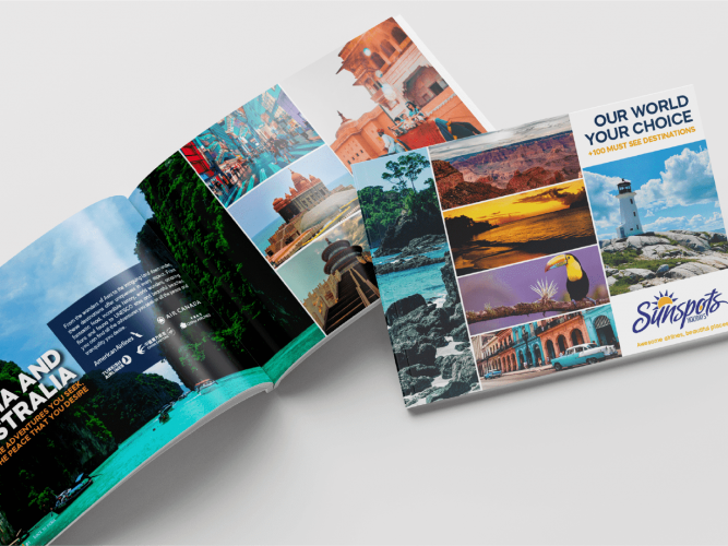 catálogo holidays