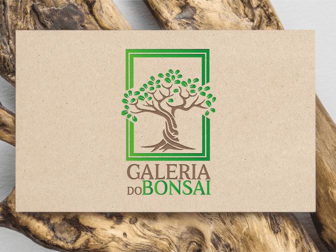 Criação de logótipo Galeria do Bonsai - destaque